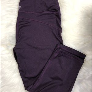 Marika sport purple capri leggings M